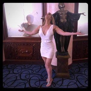 Sexy White Bodycon Dress